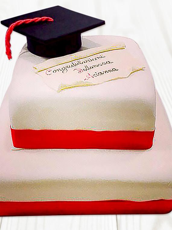 Torta-Laurea-due-Piani-con-Elementi-Cake-Design