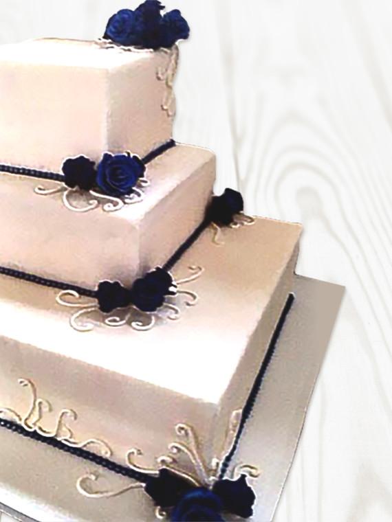 Torta-Matrimonio-Tamburo-Quadrato-Alto
