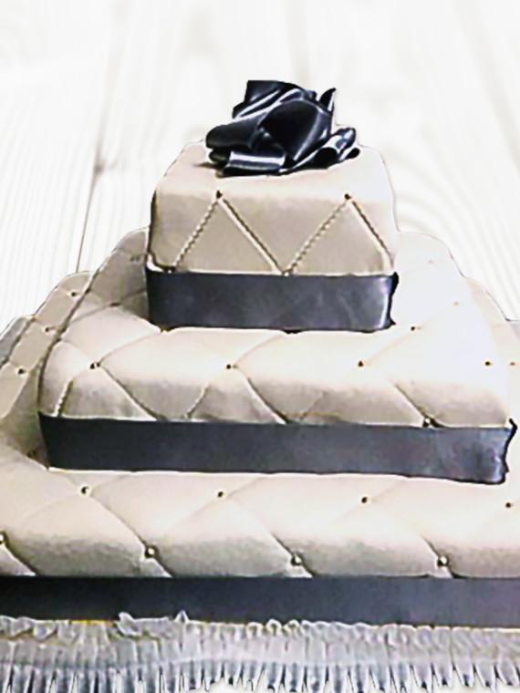 Torta-Matrimonio-Tamburo-Quadrato-Trapuntato