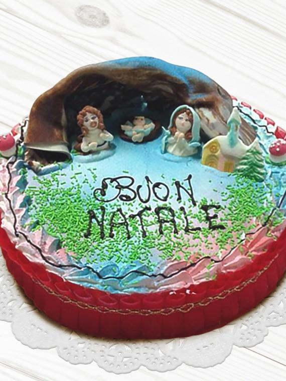 Torta-Presepe