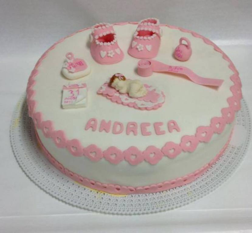 Conosciuto Pasticceria Modenese | Torta Nascita Cake Design due Piani YU48
