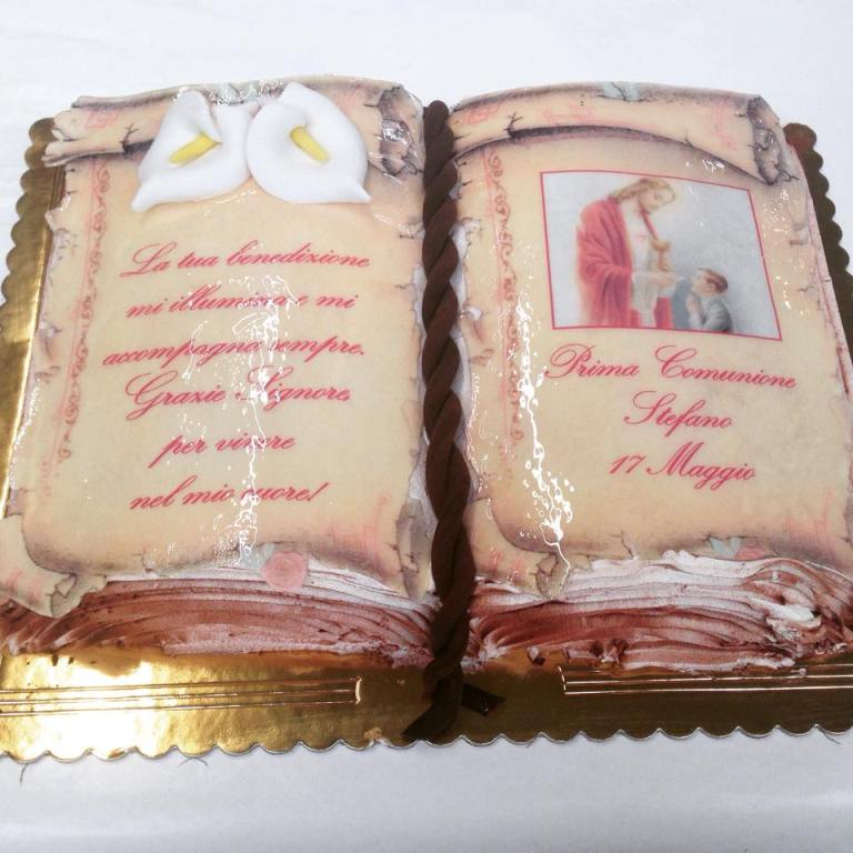 Cake Design Vendita Prodotti : Pasticceria Modenese Torta Comunione Cake Design con ...